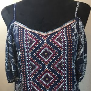 Beautiful Southwestern Detailed Dress